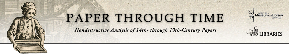 Paper through Time: Nondestructive Analysis of 14th- through 19th-Century Papers